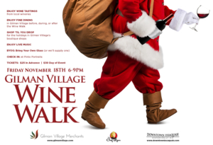 4th Annual Gilman Village Wine Walk @ Gilman Village Wine Walk | Issaquah | Washington | United States