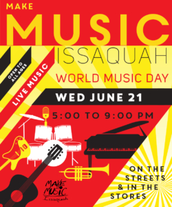 Issaquah Make Music Day @ Front Street Downtown Issaquah | Issaquah | Washington | United States