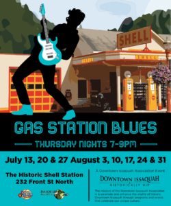Gas Station Blues 7/13- Naomi Wachira @ Historic Shell Station | Issaquah | Washington | United States